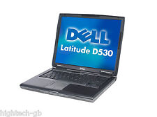 "CHEAP FAST Dell Latitude D530 15"" Intel Core 2 Duo 3GB RAM 160GB HDD Win 7 DVDRW"