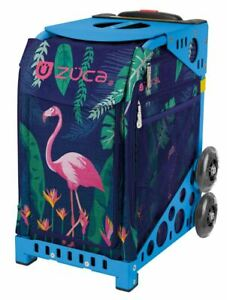 Zuca Sport Bag -  Flamingo with Gift 2 Small Utility Pouch