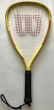 "Wilson Hyper Alloy Racquetball Racket Xpress Turbo Tube Frame 3 7/8"" Grip"