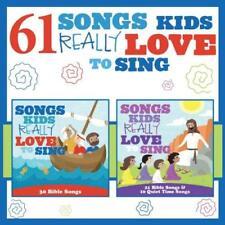 61 SONGS KIDS REALLY LOVE TO SING (Spiritual/Christian/Children) CD