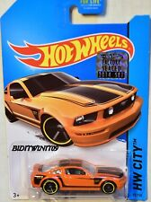 HOT WHEELS 2014 HW CITY 2015 FORD MUSTANG GT ORANGE FACTORY SEALED