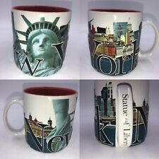 🌟Statue Of Liberty Museum Store 3D New York Large Mug 2006 Collectable Rare