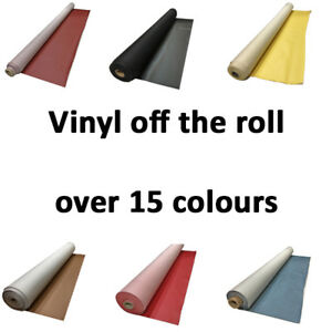 Leatherette Leathercloth material heavy feel fabric Faux leather Vinyl roll