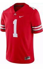 Nwt! Ohio State Buckeyes Men's #1 Scarlet Game Jersey Mens Sz Medium M