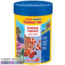 Sera Marin Plankton Tabs 2.3oz Saltwater Fish Food 275 Tablets Free USA Shipping