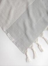 Handloom Hare Turkish Towel Peshtemal Diamond 100% Cotton Hammam Spa AUTHENTIC