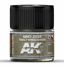 Ak Interactive #Aki-Rc219 Real Colors: Mno2036 Smalt Khaki Avion Acrylic Lacquer