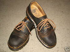 Dr. Marten brown leather shoes sz.7 *VERY COOL*