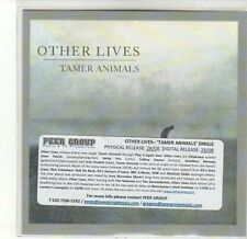 (CA833) Other Lives, Tamer Animals - 2011 DJ CD
