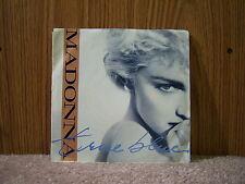 """Sire 7-28591 Madonna - True Blue/Ain't No Big Deal 1984 7"""" 45 RPM"""