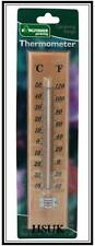 WOODEN THERMOMETER MEASURE TEMPERATURE IN C & F GARDEN HOME ROOM TH02