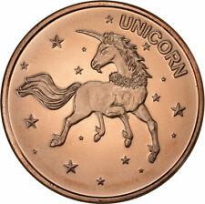 1 oz Copper Round - Unicorn