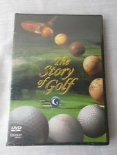 Brand New Sealed THE STORY OF GOLF DVD host Rich Lerner / Golf Channel & Cramer