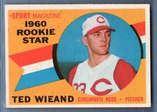 1960 Topps #146 Ted Wieland VG-EX Set Break 1