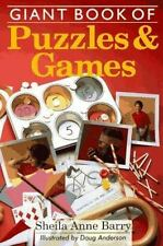Giant Book of Puzzles & Games by Barry, Sheila Anne