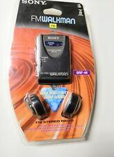 Sony FM Stereo Radio Walkman SRF-46 High Sensitivity Brand New, Sealed Free Ship