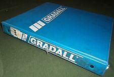 Gradall 544 Telescopic Telehandler Forklift Parts Manual Book Catalog