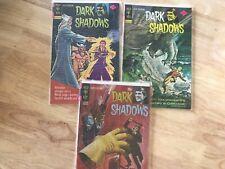 Gold Key Comics Dark Shadows #12, #28, and #31