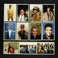 Smash Hits Colección 1987 Por Panini - Completo Pegatinas Juego - Todo 200