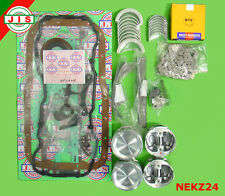 Fit Nissan 87- 89 720 D21 Pickup Cargovan Z24 2.4 STD Engine Rebuild Kit NEKZ24i