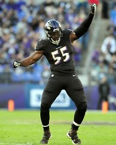 TERRELL SUGGS 8X10 PHOTO BALTIMORE RAVENS PICTURE NFL