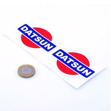 DATSUN badge autocollant Decal Nismo voiture vinyle 50 mm x2 JDM Drift Racing Nissan
