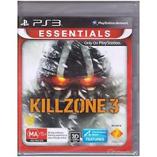 PLAYSTATION 3 KILLZONE 3 PS3 ESSENTIALS NEW SEALED [NS]