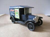 Vintage Matchbox Model T Ford Kelloggs Cornflakes Advertise