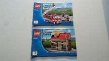 LEGO CITY !! INSTRUCTIONS ONLY !! FOR 60003 FIRE EMERGENCY