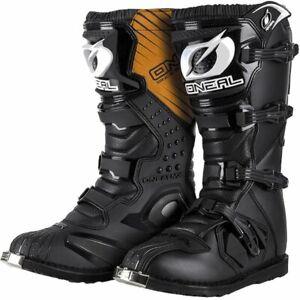 ONEAL RIDER  MOTOCROSS/ENDURO BOOTS BLACK