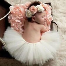 Newborn Baby Girl Photography Props Tutu Skirt with Headband