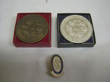 3 x VINTAGE ROYAL HORTICULTURAL SOCIETY  AFFILIATED SOCIETIES items
