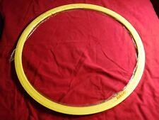 Velocity 700c Clincher Rim, 32 Hole, 19mm W x 30mm deep, color Yellow, Rim Brake