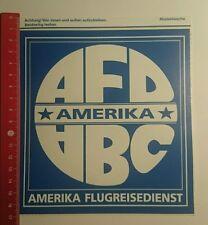 Aufkleber/Sticker: AFD ABC Amerika Flugreisedienst (130916108)