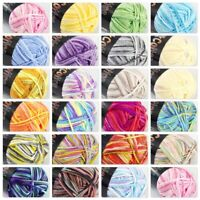 AIP New 1Skeinx50g Soft DK Baby Cotton Crochet Yarn Hand Wool Scarf Knitting