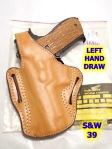 LEFT #83 DeSANTIS TB Scabbard Gun Holster for S&W 39 59 439 459 559 639 659 5906
