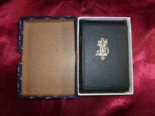 Vtg BOOK OF COMMON PRAYER BIBLE Collins Press Boxed Slide Fastener (Zip) Binding