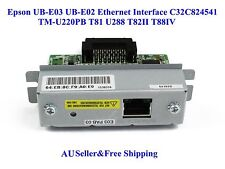 Epson UB-E03 UB-E02 Ethernet Interface C32C824541 TM-U220PB T81 U288 T82II T88IV