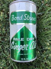 Bon Street ginger ale Soda Can flat top