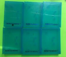 Nintendo N64 - 6 Storage Box Plastic Clamshell Hard Cases Blue Color Nintendo 64
