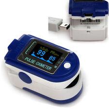 CONTEC CMS50D+ Finger pulse Oximeter Pulse-Ox SpO2 Monitor with MiniUSB software