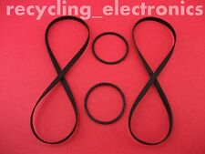 SONY TC-WR665S, TCWR665S Drive Belt Kit For Cassette Deck (4 Belts)