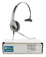 Plantronics H91 Encore Headset (43464-11)- Renewed, 1 Year Warranty