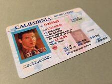 Blade Runner Rick Deckard California ID Film Movie Plastic Card Prop