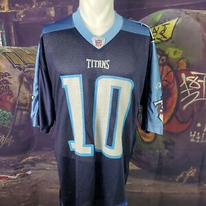 Vince Young Reebok Tennessee Titans Jersey (Size Large)