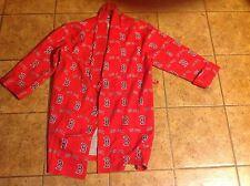 Boston Redsox Men's Medium Felt-Lined House Coat
