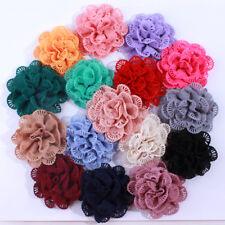 50Pcs 10Cm Wholesale Supply Chiffon Fabric Ballerina Flowers For Garment