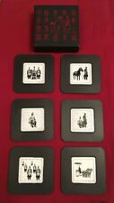 Boxed Set Of Six Chinese Drinks Coasters