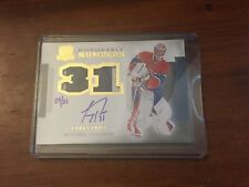 2013-14 UD The Cup Carey Price Honorable Numbers 24/31 Dual Patch Auto Canadiens