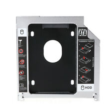 "Second HDD Caddy SATA 2.5"" HDD SSD 9.5mm Enclosure For Apple Macbook CD DVD ROM."